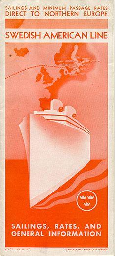 Swedish American Line 1937
