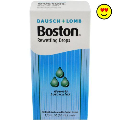 #onsale For Rigid Gas Permeable Contact Lenses. Sterile. Rewets. Lubricates. #Boston #Rewetting Drops help you keep your lenses comfortable by coating the lens su...