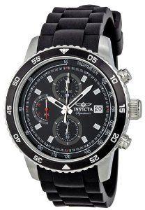 #Invicta Signature Chronograph Black Watch  women watch #2dayslook #new #watch #nice  www.2dayslook.com