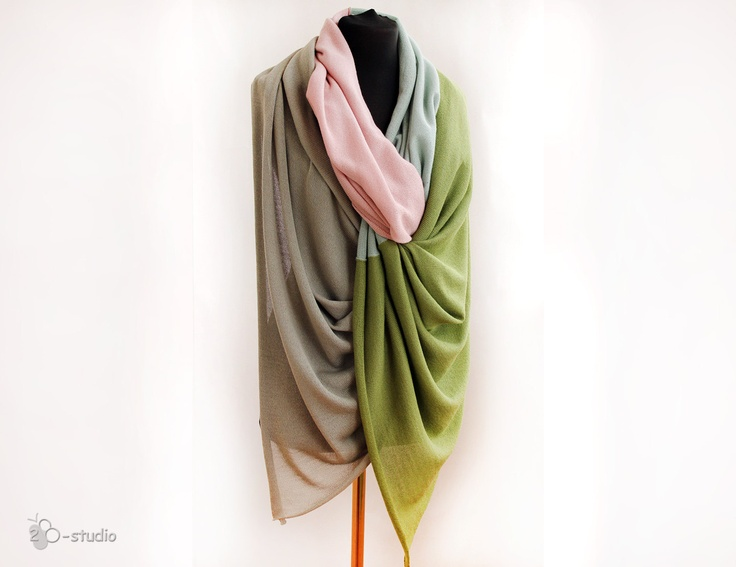 Modal Scarf - Chained Colors by VIDA VIDA