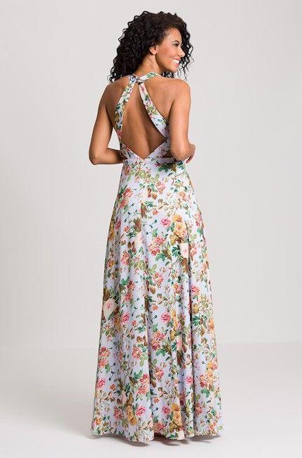 Vestido Estampado Lane  986fd64cee4f
