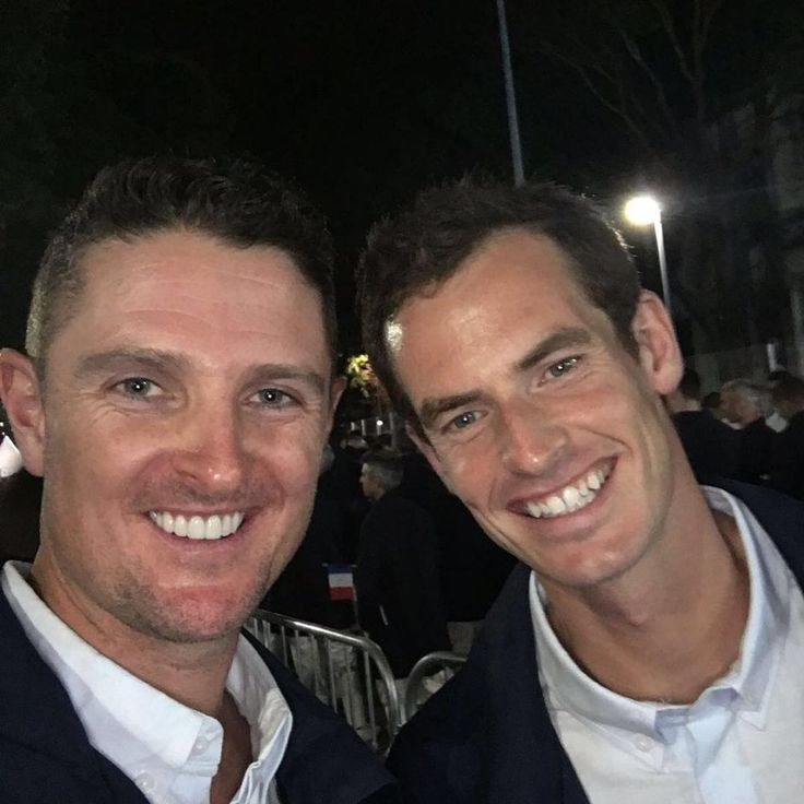 Rio Opening Ceremony: Behind the scenes with the Olympians - Justin Rose | Great Britain | Golf Hanging with @andymurray before walking in with @teamgb What an AMAZING honour that was…. #TEAMGB #Rio #Olympics2016 #OlympicGolf Instagram/justinprose99