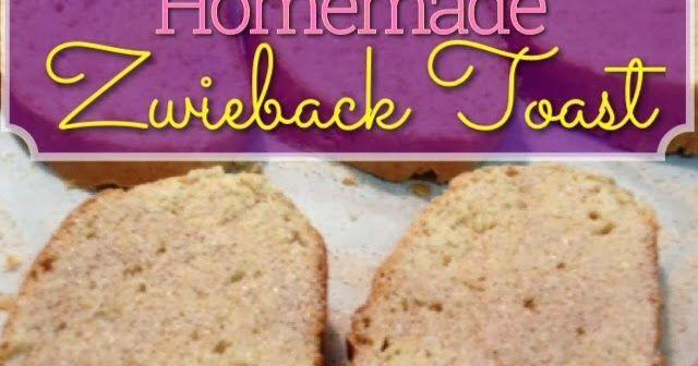 EmilyCanBake: Homemade Zwieback Toast