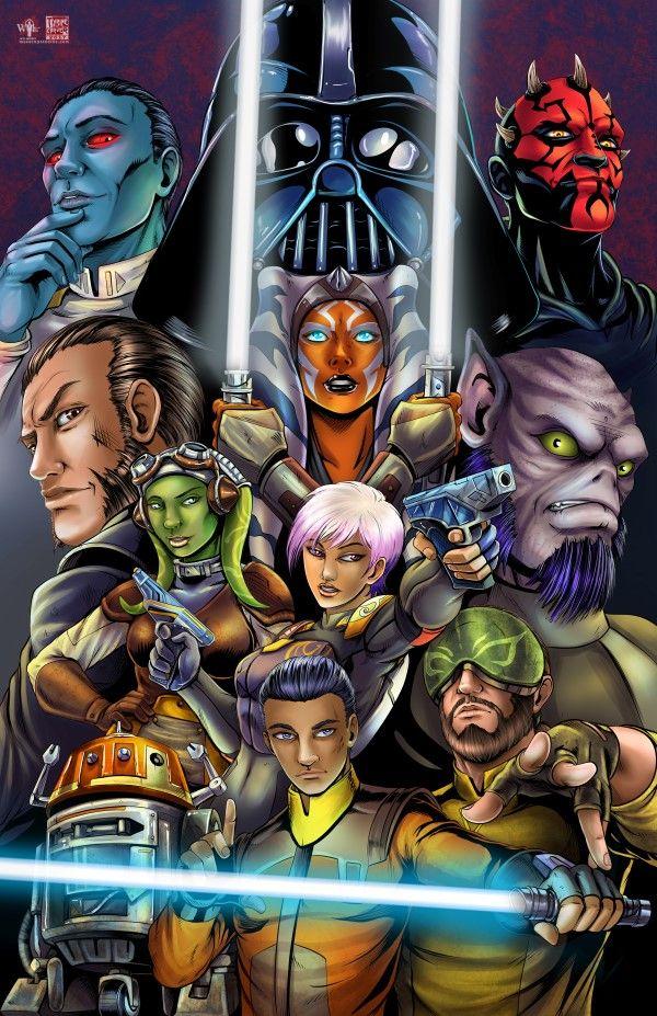 Star Wars Rebels by Tyrine Carver and Wil Woods of  Musetap Studios