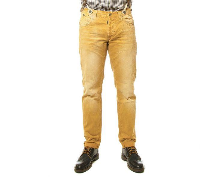 Pantalon 5B Color con Tirantes, Antony Morato - Mi and Mall #MIMALLSHOP