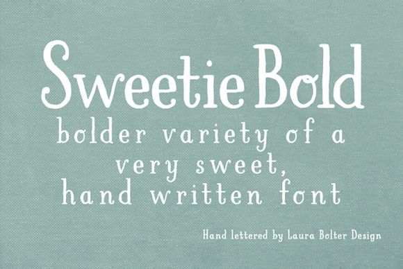 I just released LBSweetie Bold on Creative Market.