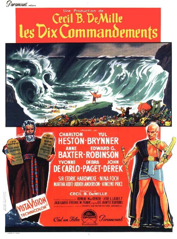 Redécouvrez la bande-annonce du film Les Dix commandements ponctuée des secrets de tournage et d'anecdotes sur celui-ci. ☞ Les Dix Commandements (titre ori
