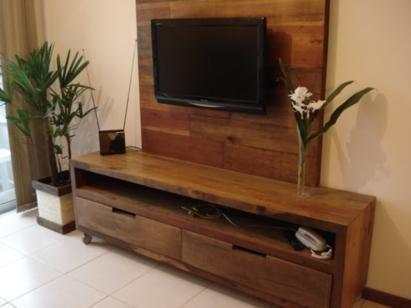 painel, madeira, rack, rustico, tv, digital, parede, raque, lcd