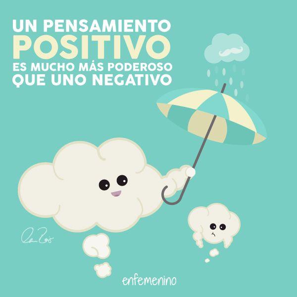 Ya sabéis: ¡a pensar en positivo! #frasedeldia #movember