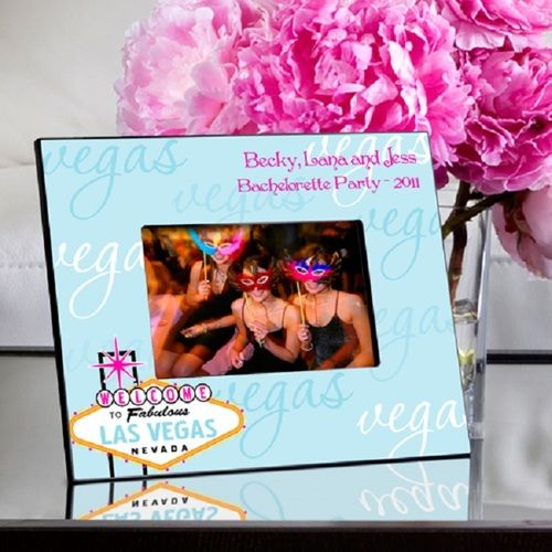 Gals in Las Vegas Blue Picture Frame