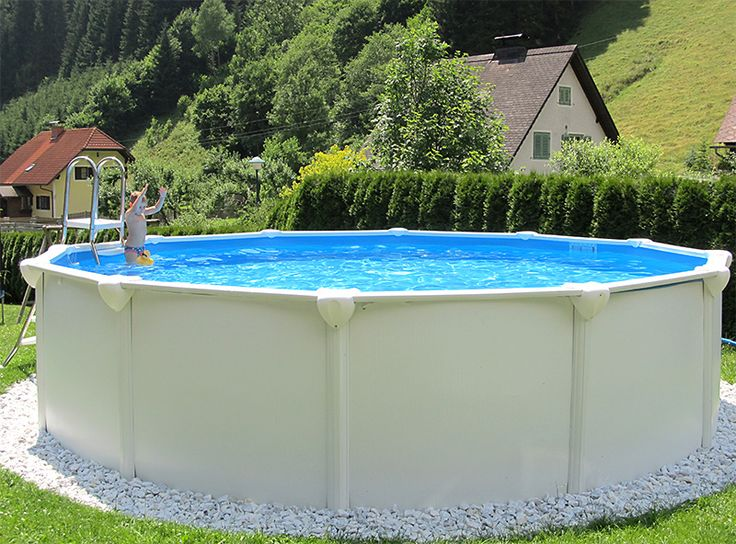 55 best images about gartenpools von poolsana on pinterest for Stahlwand rundpool aufbau
