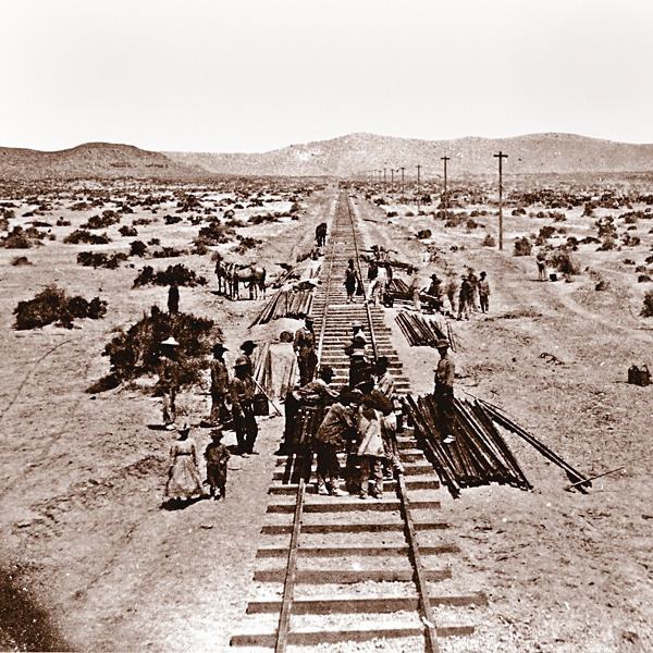 The First Transcontinental Railroad