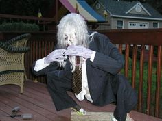 Image result for zombie halloween yard ideas