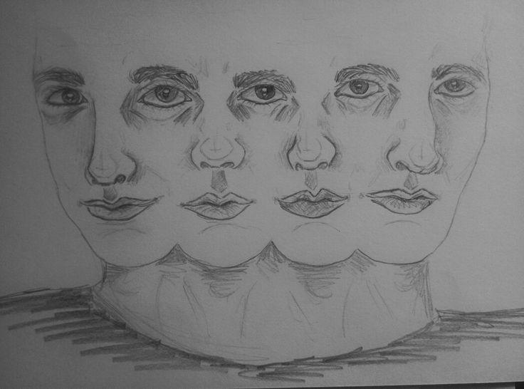 Queen album drawing