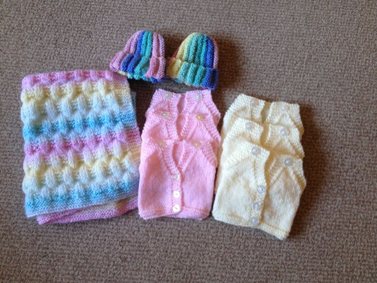 Free Knitting Patterns For Preemie Baby Blankets : knitting for premature babies American Girl Dolls Pinterest Babies and ...