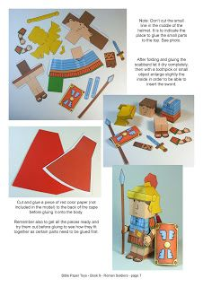 Clasedereli: Bible Paper Toys II