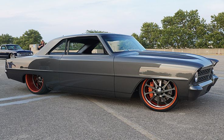 Pro touring style 65/66 Nova.