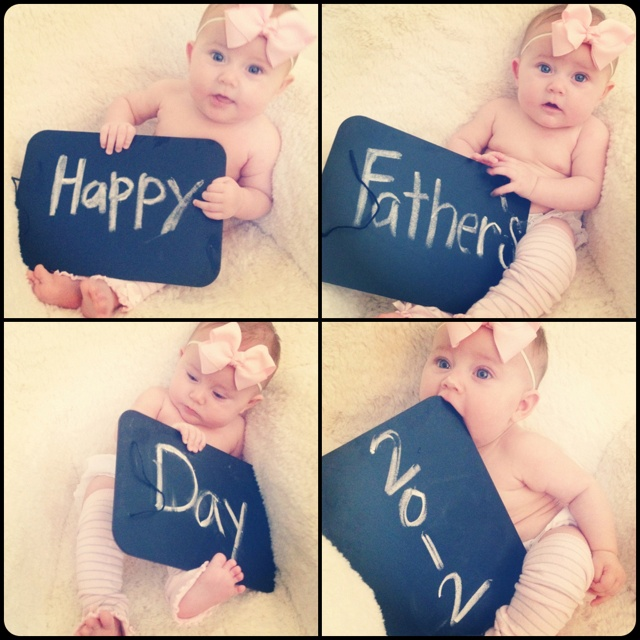 Fathers day pictures- super sweet