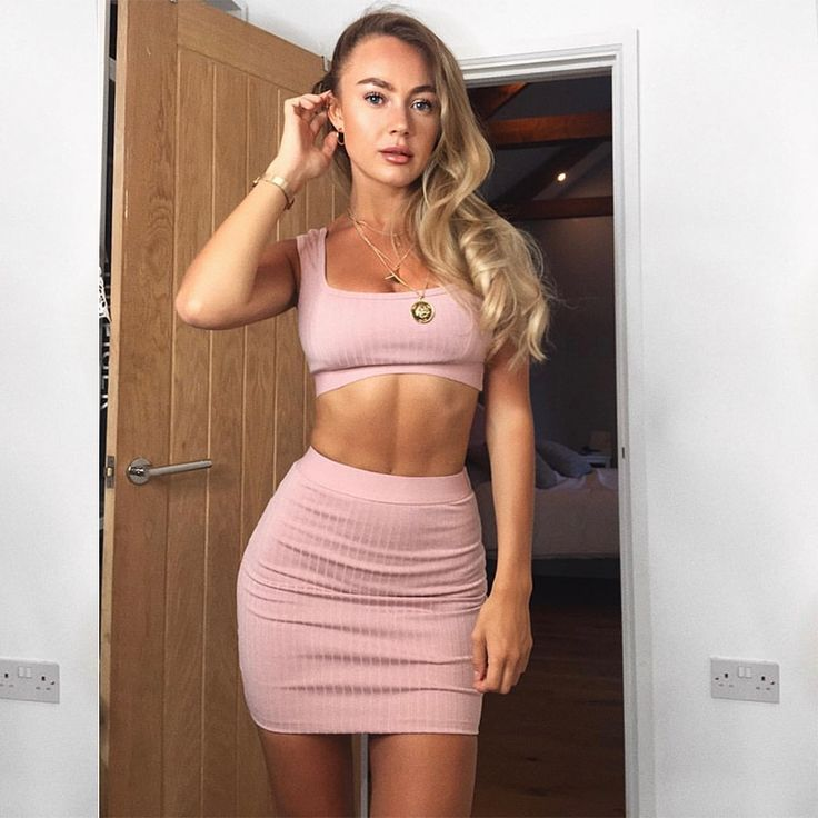 Two Piece matching sets Top and skirt Two Piece Outfits