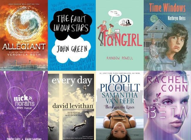 Young adult reads of highly successful students