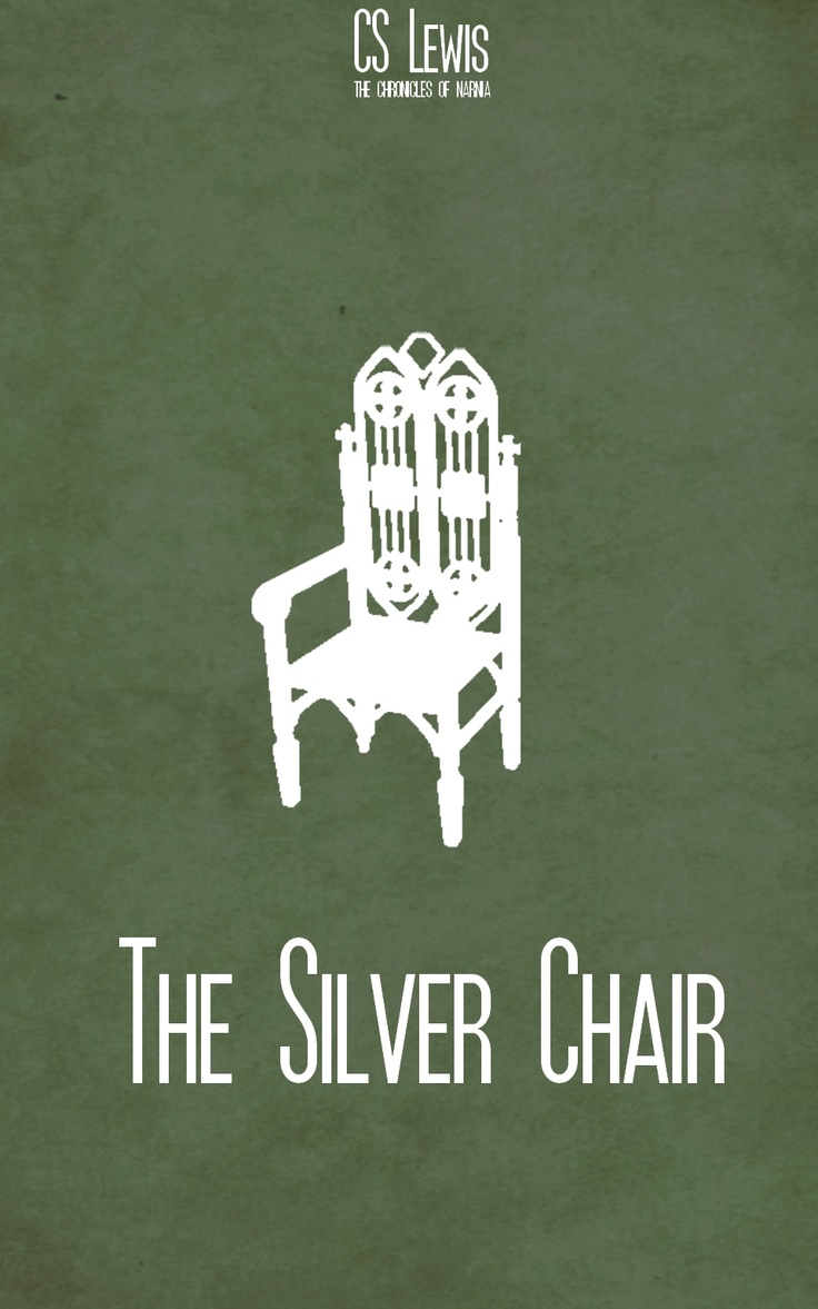 The Silver Chair minimalist poster The Chronicles of