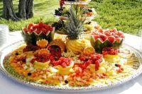 Как сделать фруктовую нарезку  2