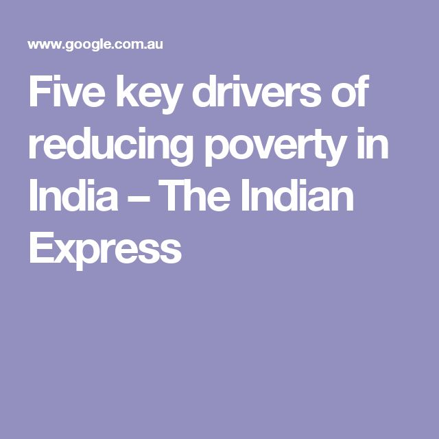 Five key drivers of reducing poverty in India