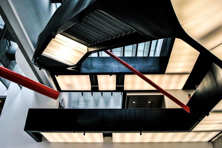 MAXXI - Museo nazionale delle Arti del XXI secolo, Zaha Hadid 2010 #architecture #zahahadid #maxxi #rome #museum #italy