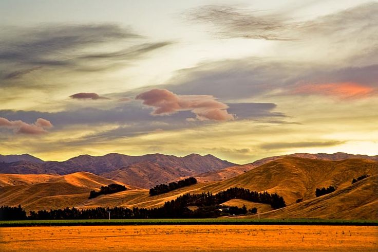 Assortment of clouds on the Wither Hills,  see more at New Zealand Journeys app for iPad www.gopix.co.nz