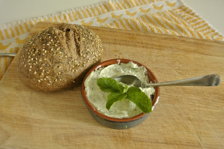 PTteam - The blog: Deliciousness - Cheese and Mint Dip