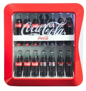 Coca-Cola Cube. I want this fully stocked. Now.
