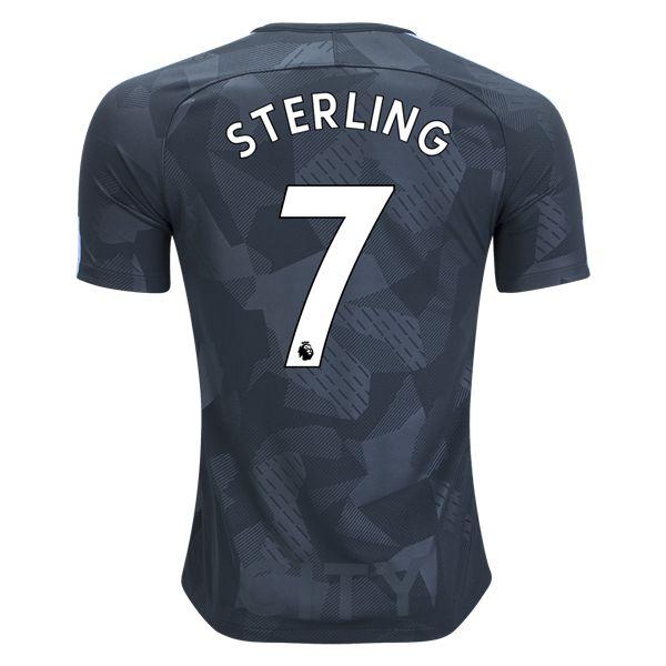 Nike Raheem Sterling Manchester City Third Jersey 17/18