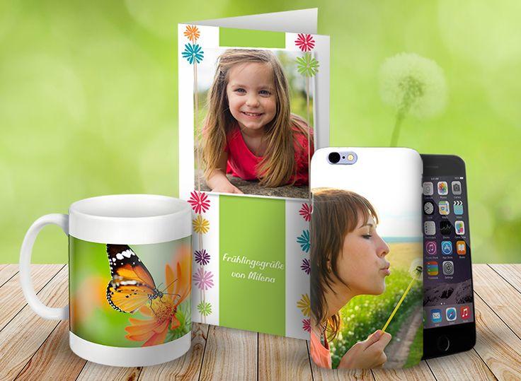 Fotogeschenke mit Deinen eigenen Fotos online gestalten: http://www.onlinefotoservice.de/fotogeschenke.html