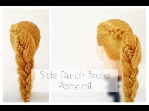 DIY Braided Ponytail - La creme