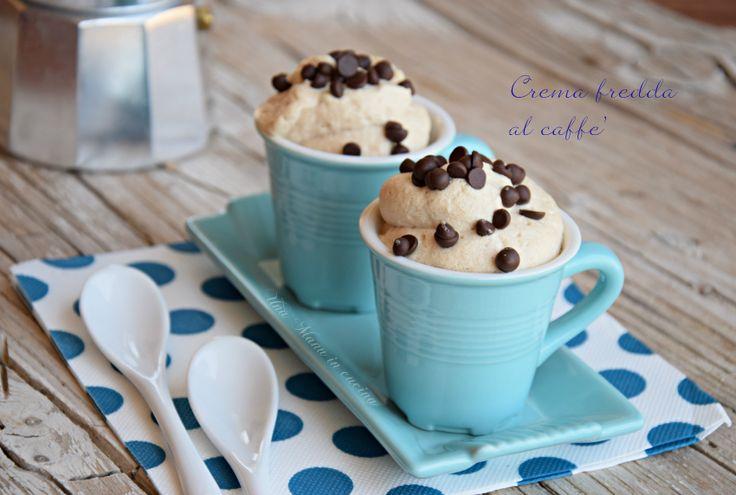 La crema fredda al caffè, è un must dell'estate! Bere il caffè caldo diventa difficile, ma non vogliamo rinunciare al suo gusto inconfondibile e ad una pausa di piacere.