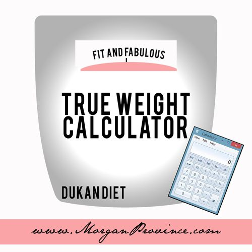 Calculate your true weight for the Dukan Diet! It allows you to find a healthy and realistic goal weight.