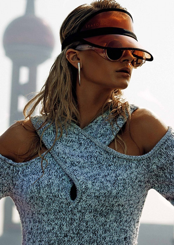 Clear plastic visor sports luxe // le specs // seafolly :: thesaucesuppliers.com