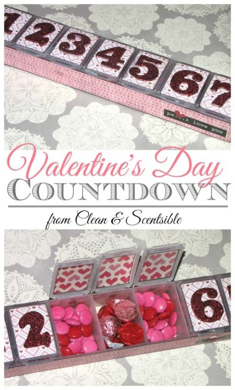 Quick and easy Valentine's Day countdown!