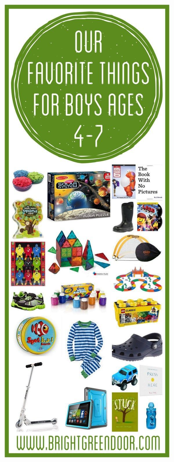 Gift Ideas for Little Boys Gifts for Boys www.BrightGreenDoor.com