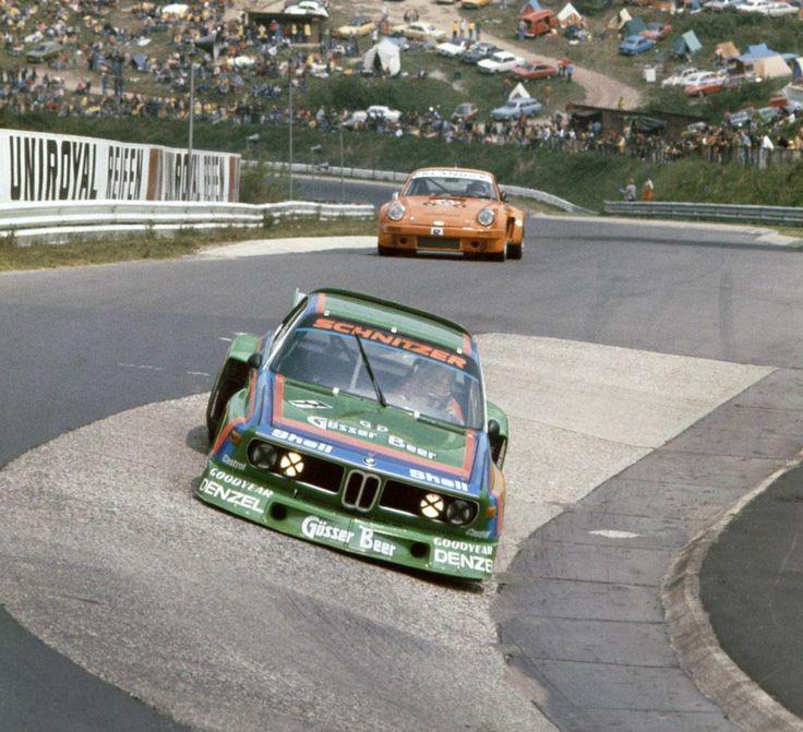 Albrecht Krebs/Dieter Quester, BMW 3.5 CSL, Nürburgring 1000km, 1976