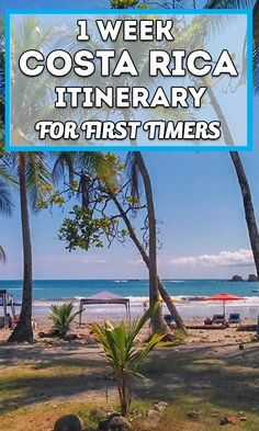 Looking for an easy 1 week itinerary for your trip to Costa Rica? Check this one out that goes to the Central and South Pacific along with a day in San Jose city. Great for first timers!