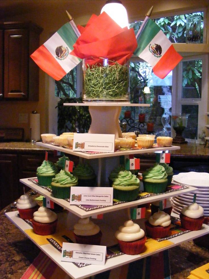 Cinco De Mayo party '12 - Square Cupcake Tower Display: http://www.thesmartbaker.com/5-tier-square-cupcake-tower/