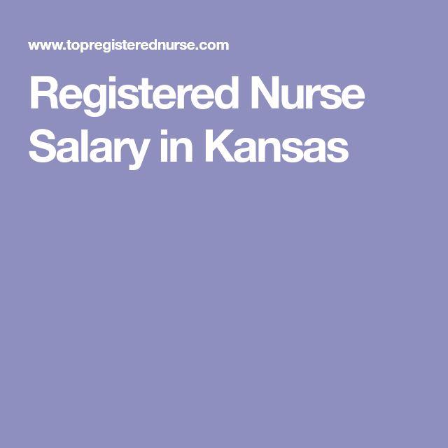 Registered Nurse Salary in Kansas