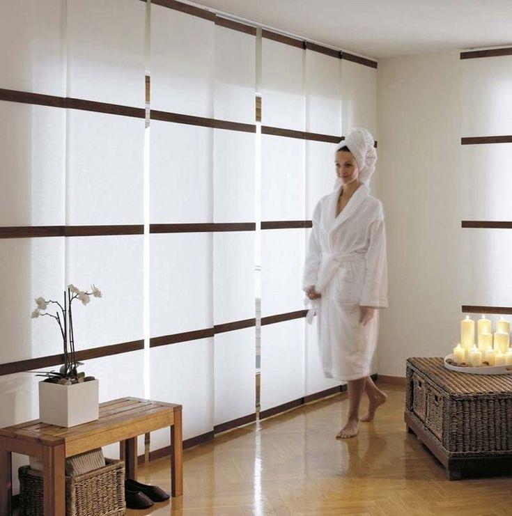 12 best panneau japonais images on Pinterest Blinds, Curtains and