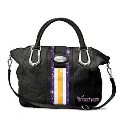 "Minnesota Vikings ""Twin Cities Chic"" Handbag #Vikings"