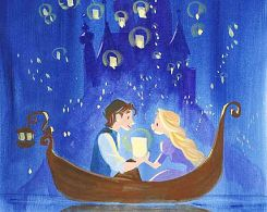 Rapunzel and Flynn - cutest thing!
