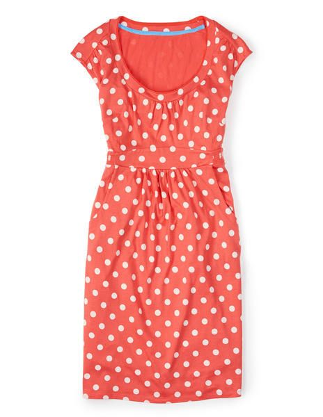 Dear Stitch Fix Stylist: I will never ever tire of polka dots! Nice peachy color, too. I'm so ready for SPRING! --xoxo, Kimberly   Casual Weekend Dress WH761 Day Dresses at Boden