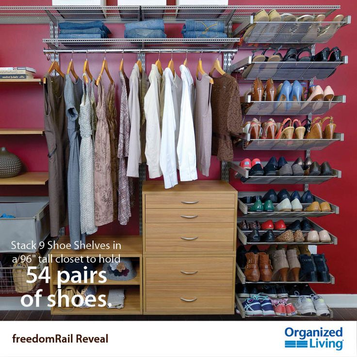 28 unexpected ways to use new freedomRail Reveal! In case you missed it, we're on tip #15! https://www.facebook.com/organizedliving/photos_stream?tab=photos_albums