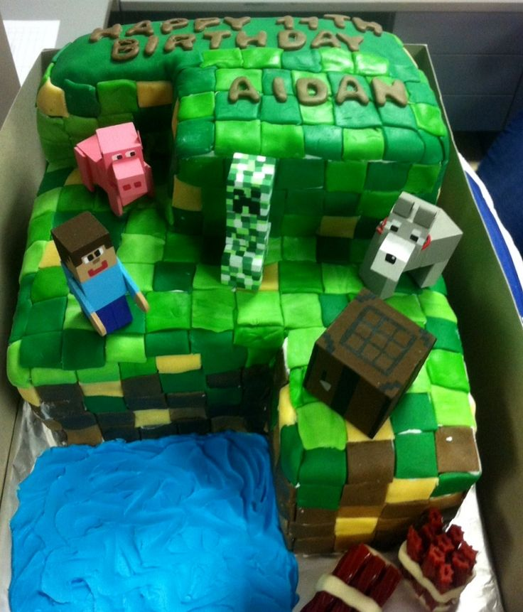 Craft Birthday Cake Ideas
