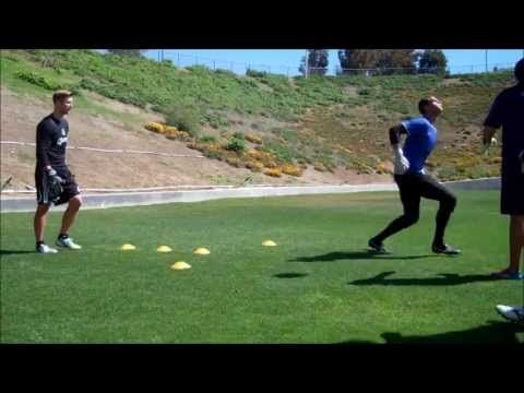 ▶ GOALKEEPER TRAINING: HIGH BALL AND LOW DIVE - YouTube